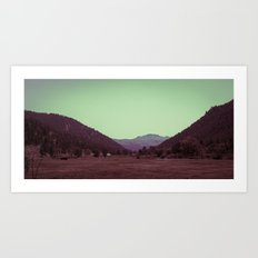 Buffalo Creek Art Print
