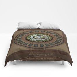 Hometown Library Comforters