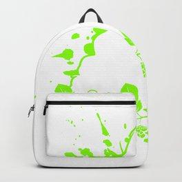 Cannabis Gras Weed rauchende Kiffer Frau Backpack