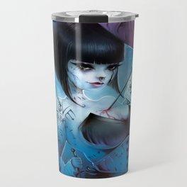 2016 Horror Girl Travel Mug