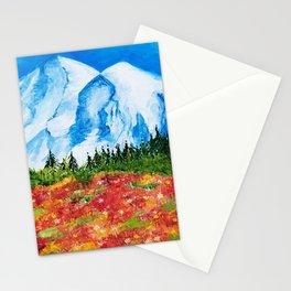 Mt. Rainier Meadows Stationery Cards