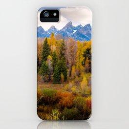 Autumn Glow at Grand Teton National Park iPhone Case
