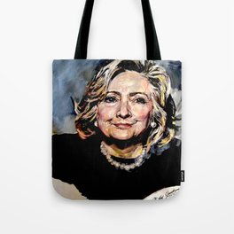 HILLARY CLINTON OFFICIAL PORTRAIT Tote Bag