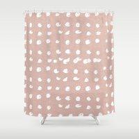 batik Shower Curtains featuring Batik 3 by Dream Of Forest