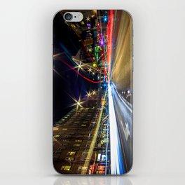 Light Trails 2 iPhone Skin