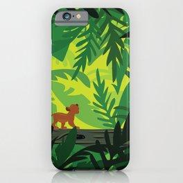 Lion King - Simba Pattern iPhone Case