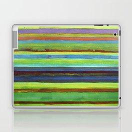 Colorful Horizontal Stripes Laptop & iPad Skin