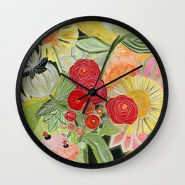 Botanic no. 1 Wall Clock