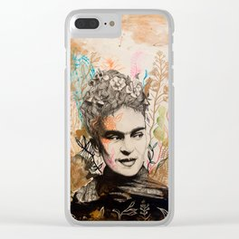 Viva Frida! Clear iPhone Case