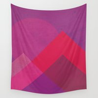 moonrise Wall Tapestries featuring Moonrise by Kassy Davis