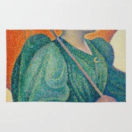 Woman with a Parasol (Femme à l'ombrelle) Rug