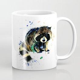 Raccoon - Splat Coffee Mug