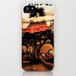 Atriones: Afiche iPhone Case