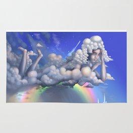 The rainbow godess Rug