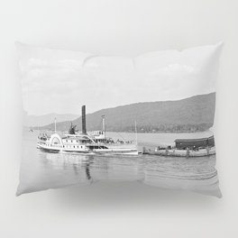 The Horicon I Steamboat 1904 Pillow Sham