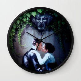 Love never dies Wall Clock