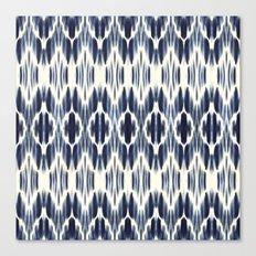 BOHEME INDIGO BLUE Canvas Print