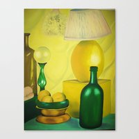 kitchen Canvas Prints featuring Kitchen by Michelle K.