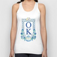 kim sy ok Tank Tops featuring OK by RachelRogers