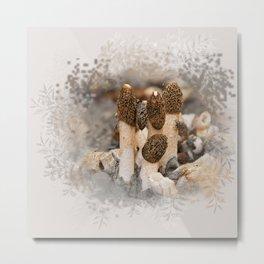 Fungi Tile Metal Print