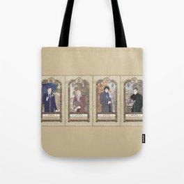 Sherlock Victorian Language of Flowers Four Seasons Tote Bag