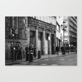 Kings Guard Canvas Print