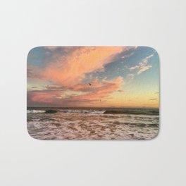 Cotton Candy Sunset Bath Mat