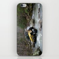 jeep iPhone & iPod Skins featuring JEEP Creek by DApple