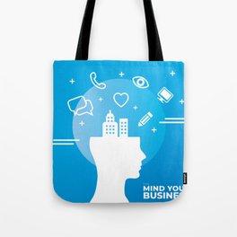Mind Your Business HV Tote Bag