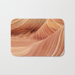 The Waves of the Coyote Buttes Bath Mat