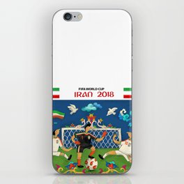 world cup 2018 iPhone Skin
