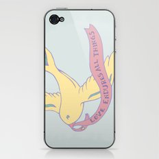 Love Banner iPhone & iPod Skin