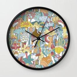 Pepperland Allover Wall Clock