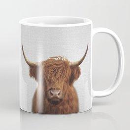 Highland Cow - Colorful Coffee Mug