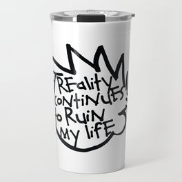 Calvin & Hobbes inspired Travel Mug