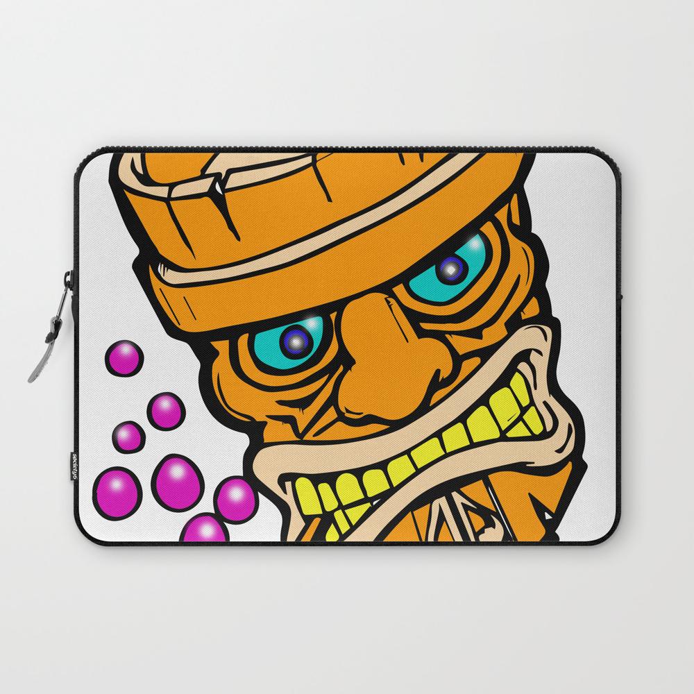Mr Tiki The Bubble Blow'n Machine Laptop Sleeve LSV8501148
