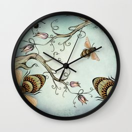 all the buzz Wall Clock