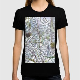 Abstract Palm, Palm Tree Design, White colorful palm, T-shirt