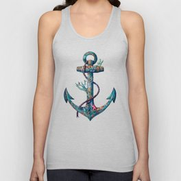 Lost at Sea Unisex Tank Top