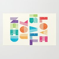 all you need is love Area & Throw Rugs featuring Love Is All You Need by Crafty Lemon