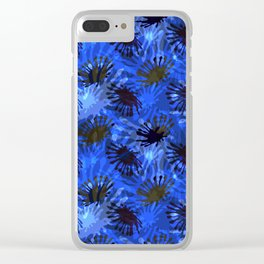 Ocean View Fireworks Clear iPhone Case