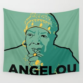 Maya Angelou Wall Tapestry
