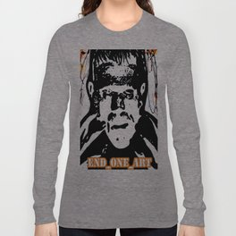 Frankenstiens Monster Painting Horror PoP Art!!!! Long Sleeve T-shirt
