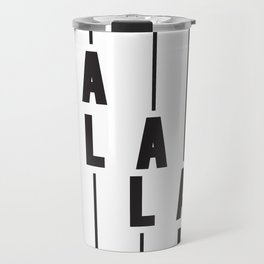LA Los Angeles Travel Mug
