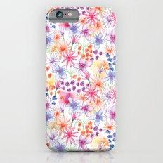 Watercolour Floral iPhone 6s Slim Case