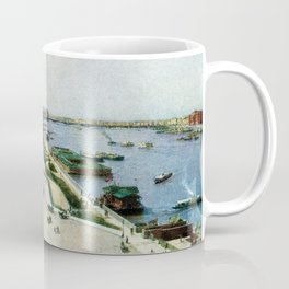 Saint Petersburg Russia Neva river and Admiralty Coffee Mug