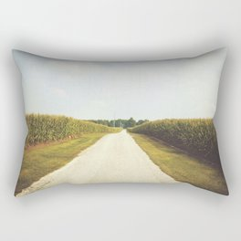 Indiana Corn Field Summers Rectangular Pillow