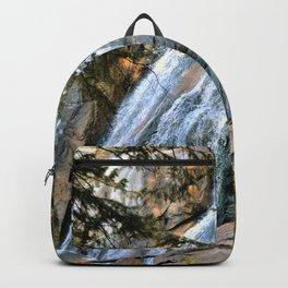 Mountain waterfall Backpack