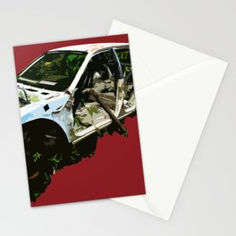 Wrecked Stationery Cards