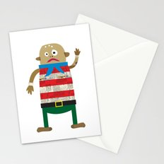 The Shipmate often seen on a Pirate ship Stationery Cards